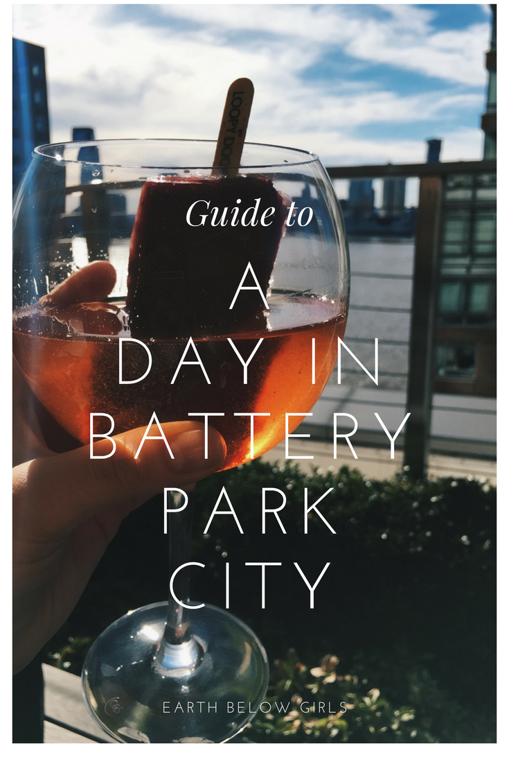 A day in Battery park city