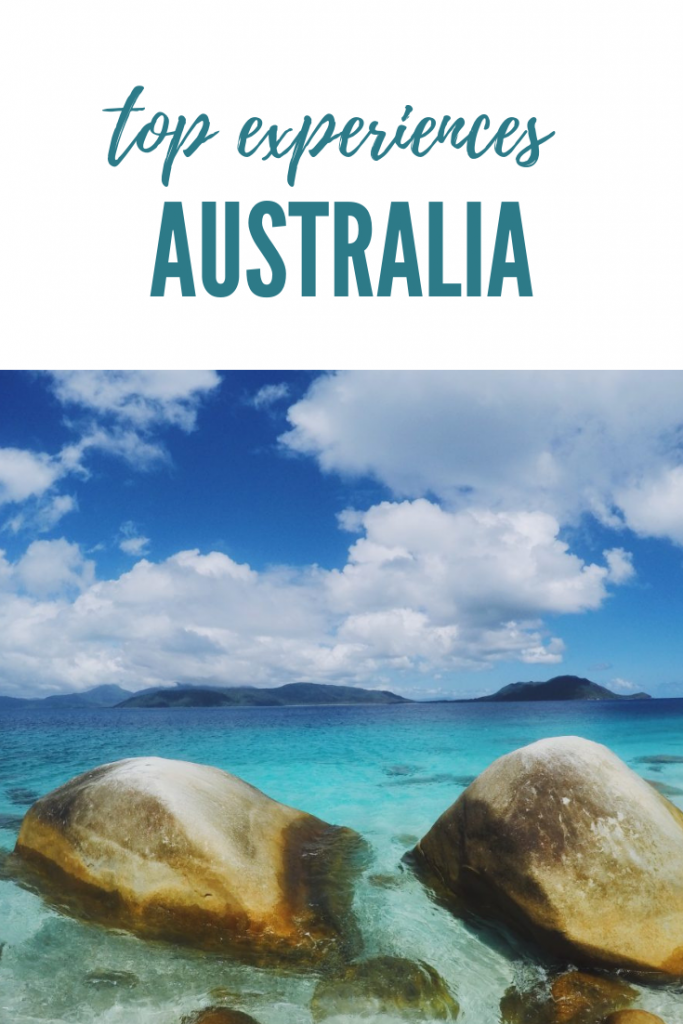 Top Experiences in Australia