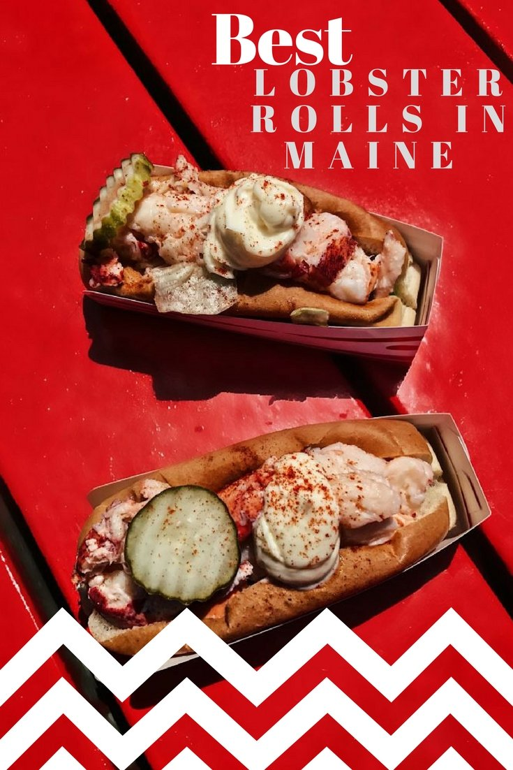 Best Lobster Roll in Maine