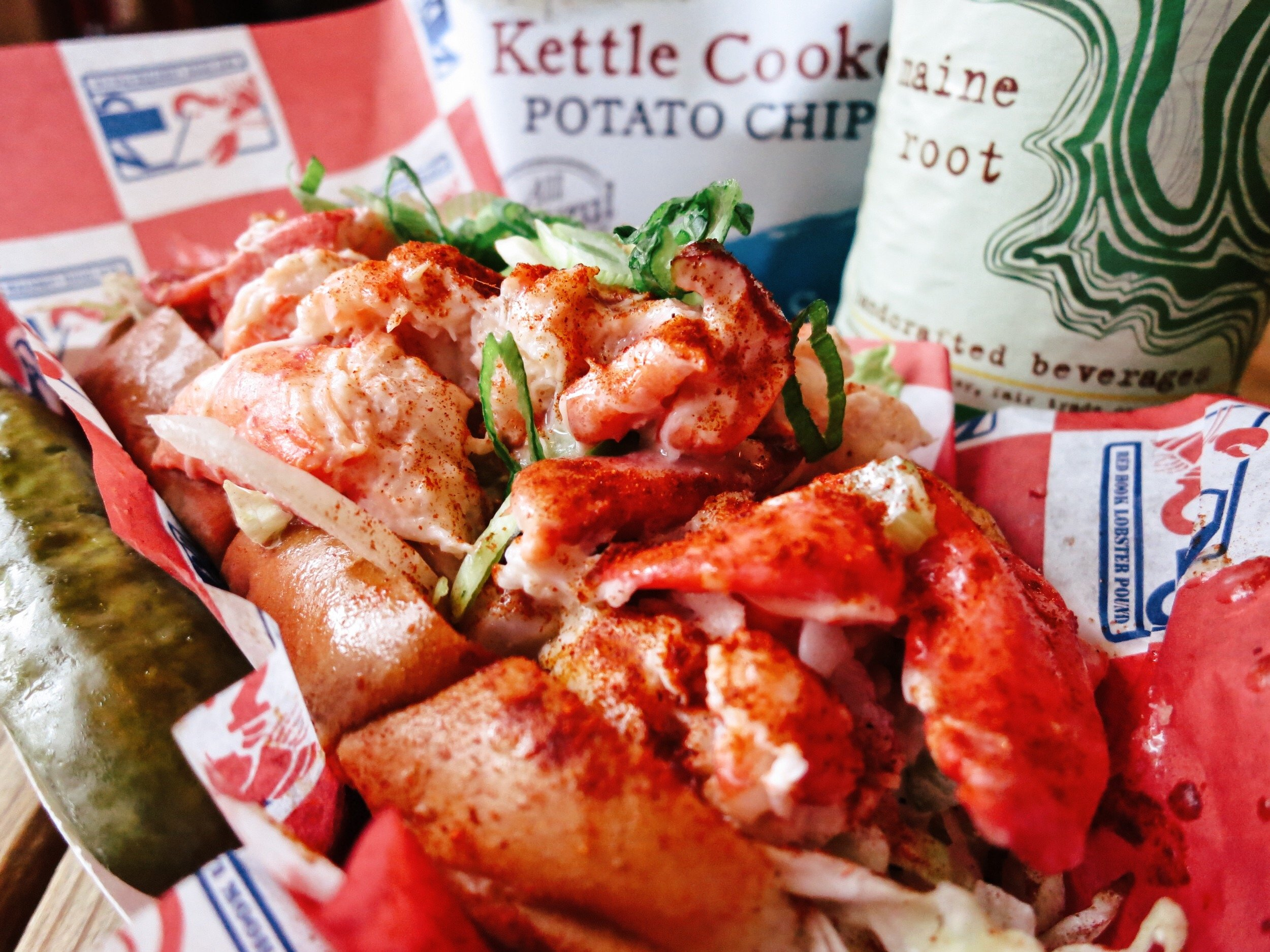 The Best Lobster Rolls in Maine   Female Travel & Lifestyle Blog   Earth Below Girls
