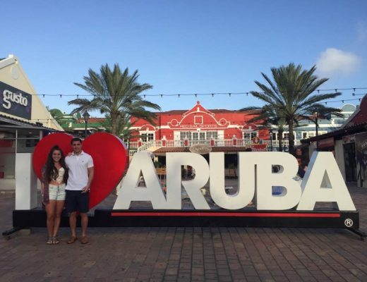 Aruba for Two | Couple's Travel Guest Post | Earth Below girls