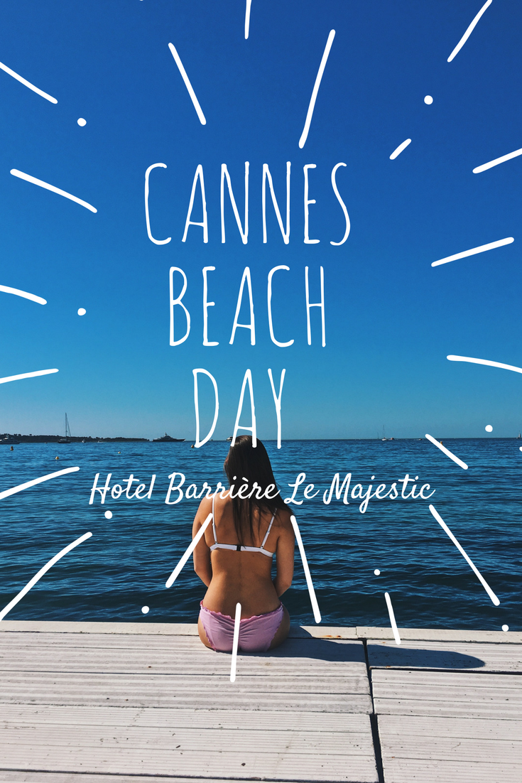 Beach Day Hotel Barrière Le Majestic Cannes | France