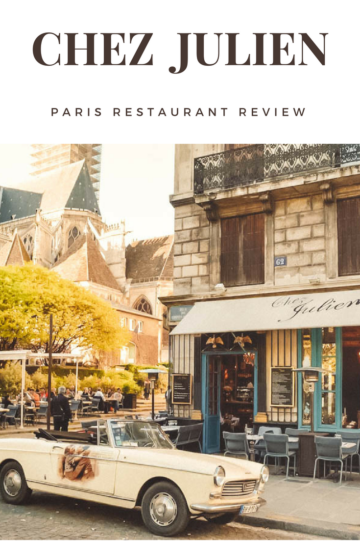 Chez Julien Review Paris 2018 EarthBelowGirls