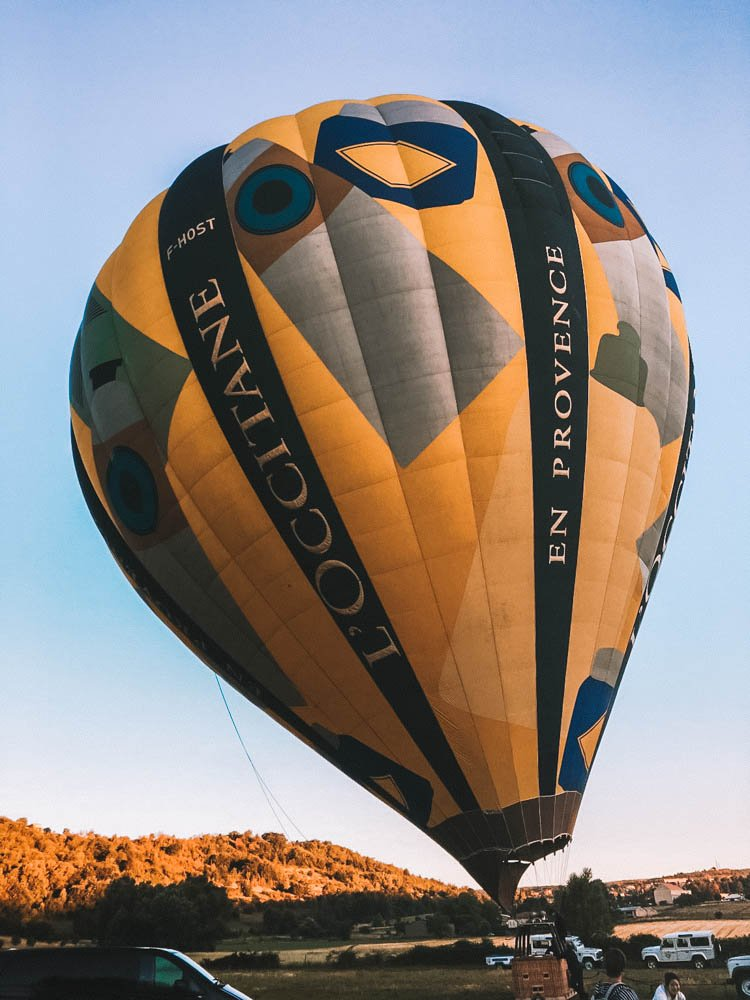 Hot Air Ballooning in Provence with France Montgolfieres