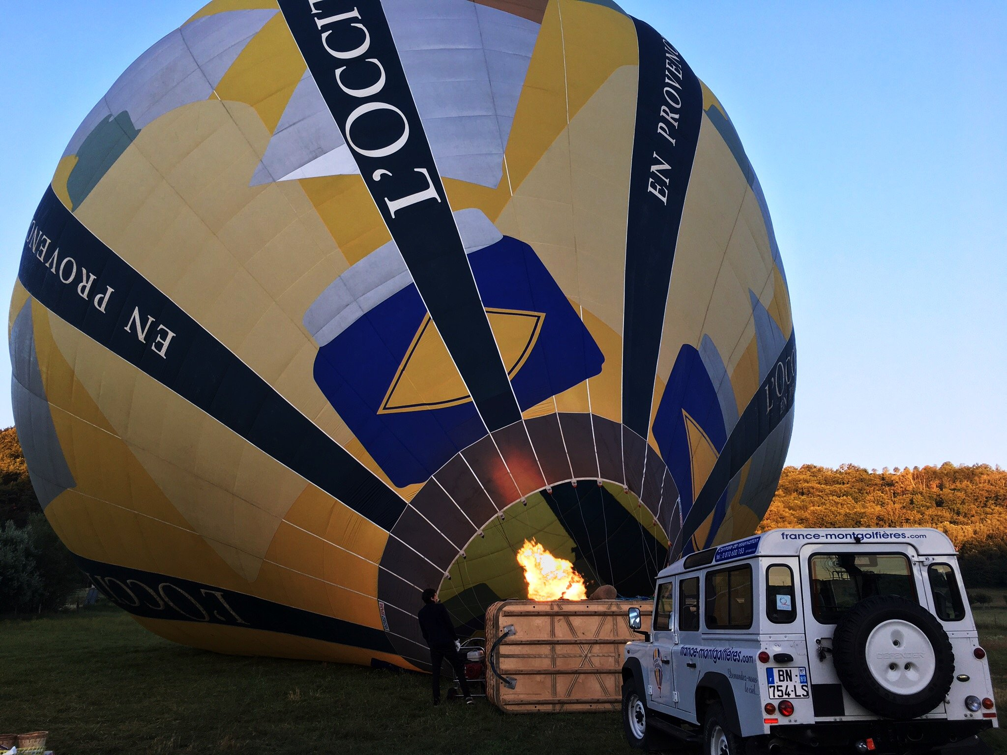 Hot Air Ballooning in Provence | France | Female Travel & Lifestyle Blog