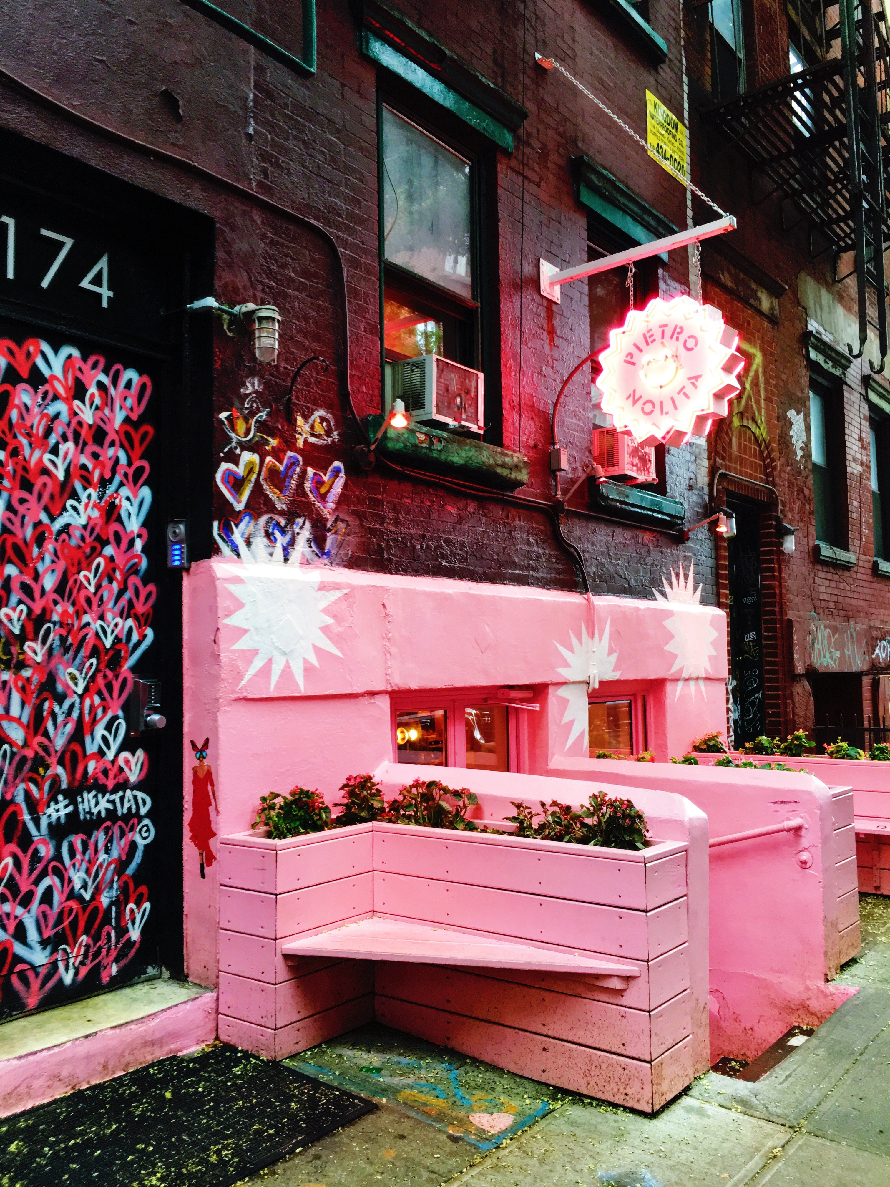 Pietro Nolita is Pink As F%$k | New York City