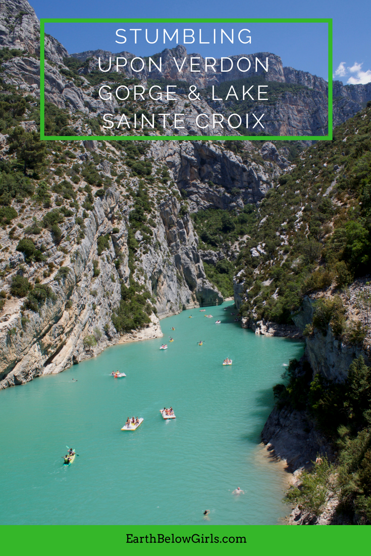 Stumbling upon Verdon Gorge & Lake Sainte Croix | France