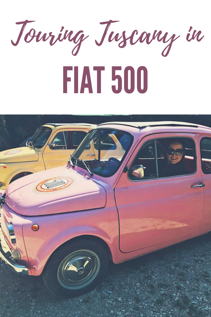 Touring Tuscany in a Fiat 500 Review