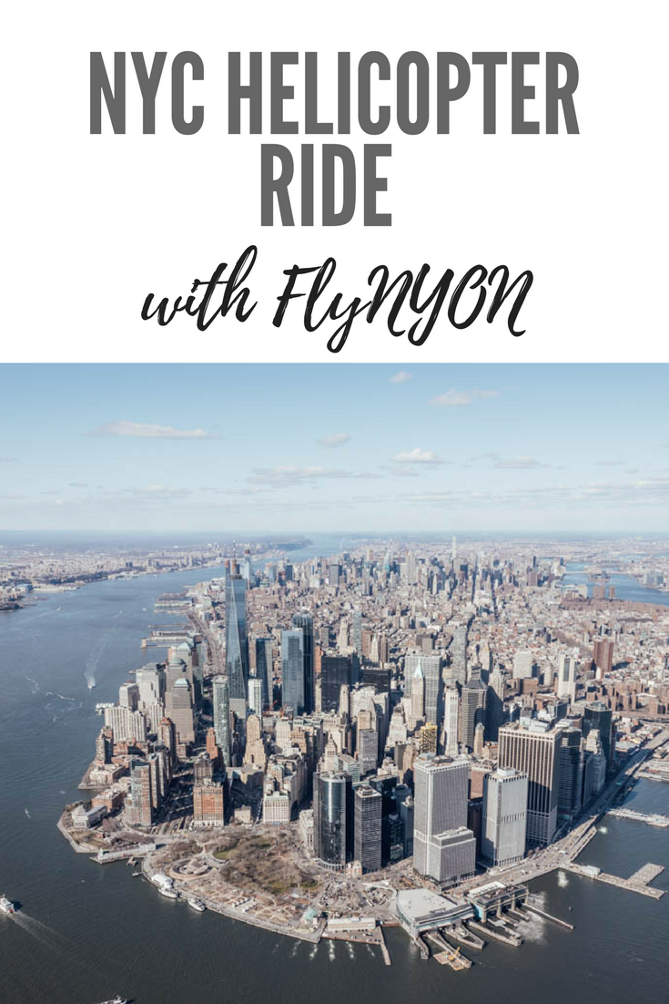 NYC Helicopter Ride with FlyNYON | New York City