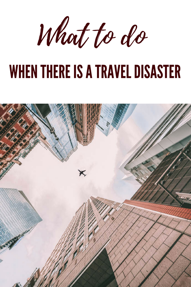 What to do when there is a travel disaster | Earth Below Girls