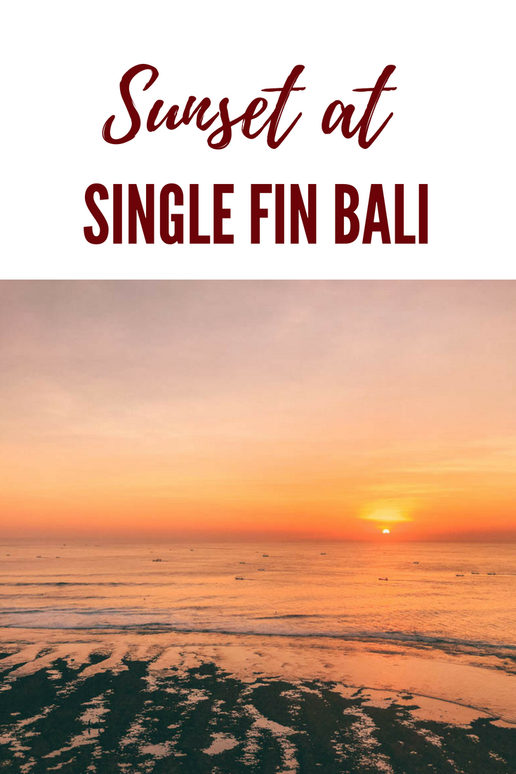 Single fin bali reservation