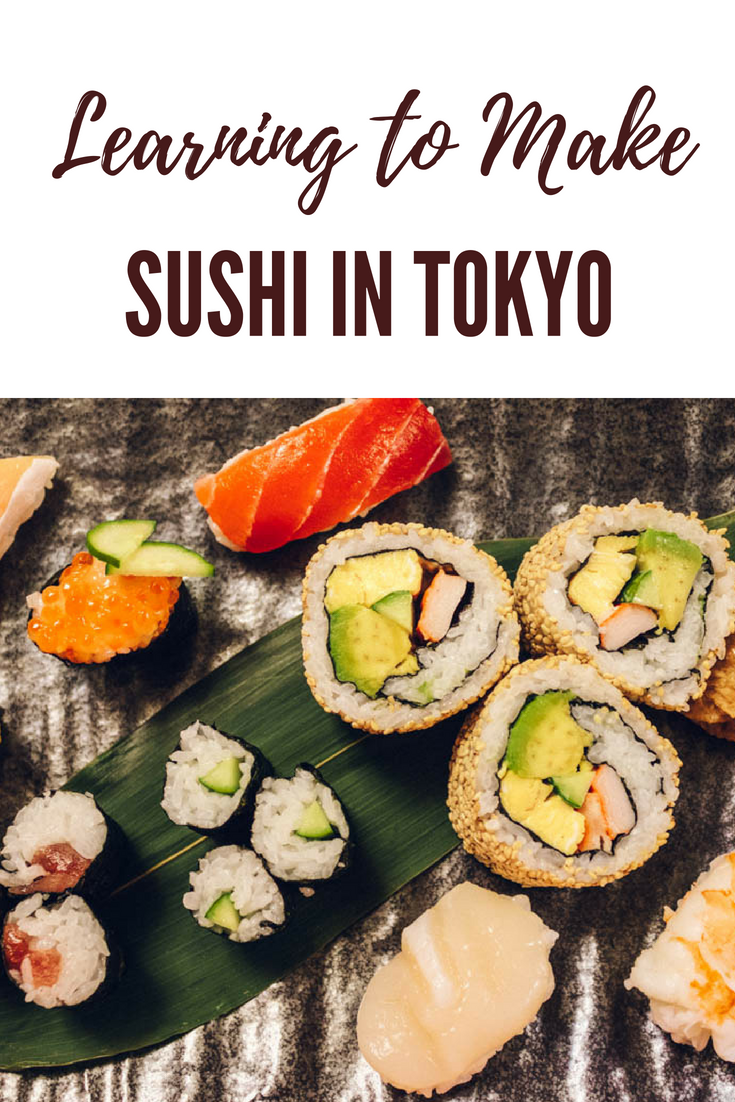 Learning to Make Sushi in Tokyo | Japan cookly Review