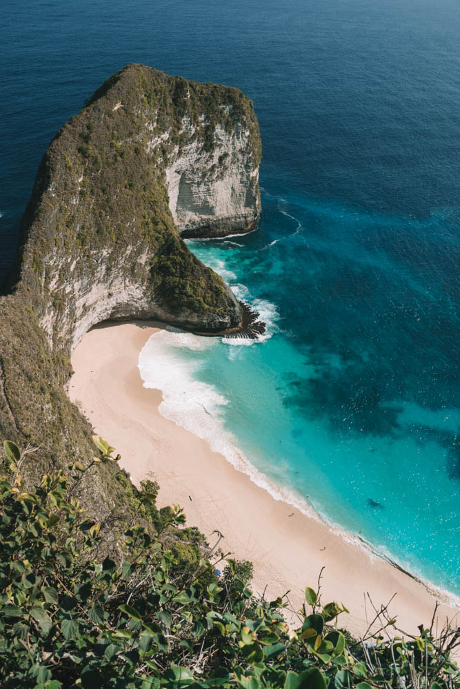 Visiting & Photographing Kelingking Secret Point Beach | Indonesia