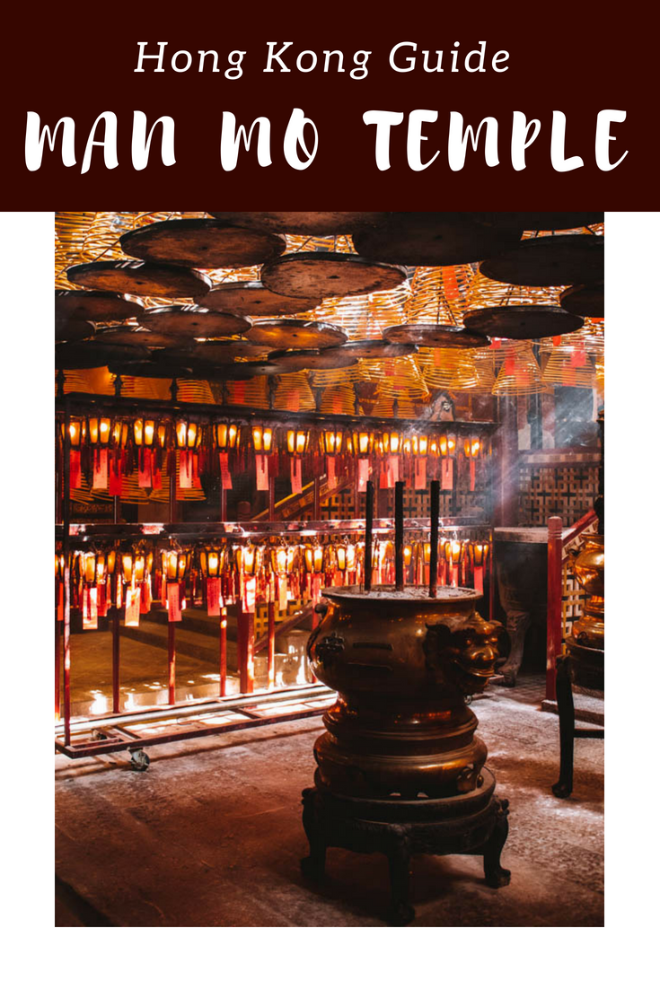 Man Mo Temple Hollywood Road Hong Kong Guide
