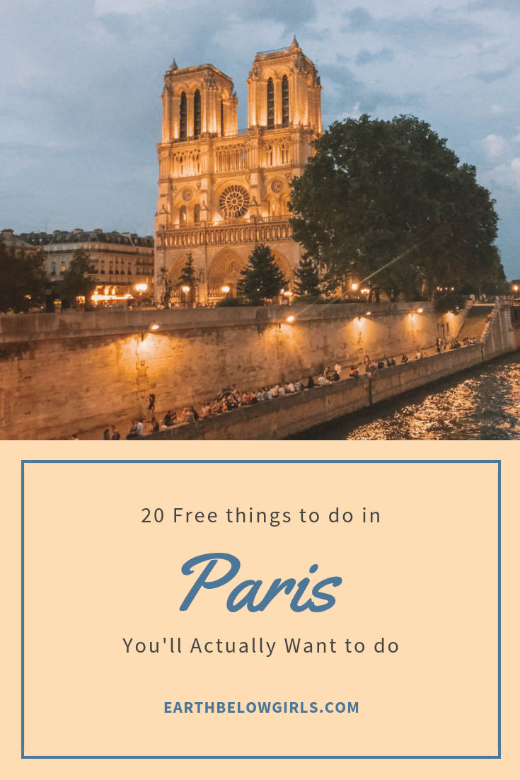 20 Free Things to do in Paris, You'll Actually Want to do | France
