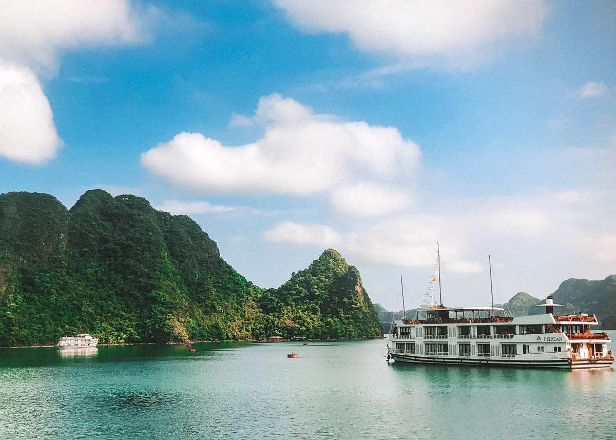 Cruising Ha Long bay in Vietnam Pelican Cruise Review