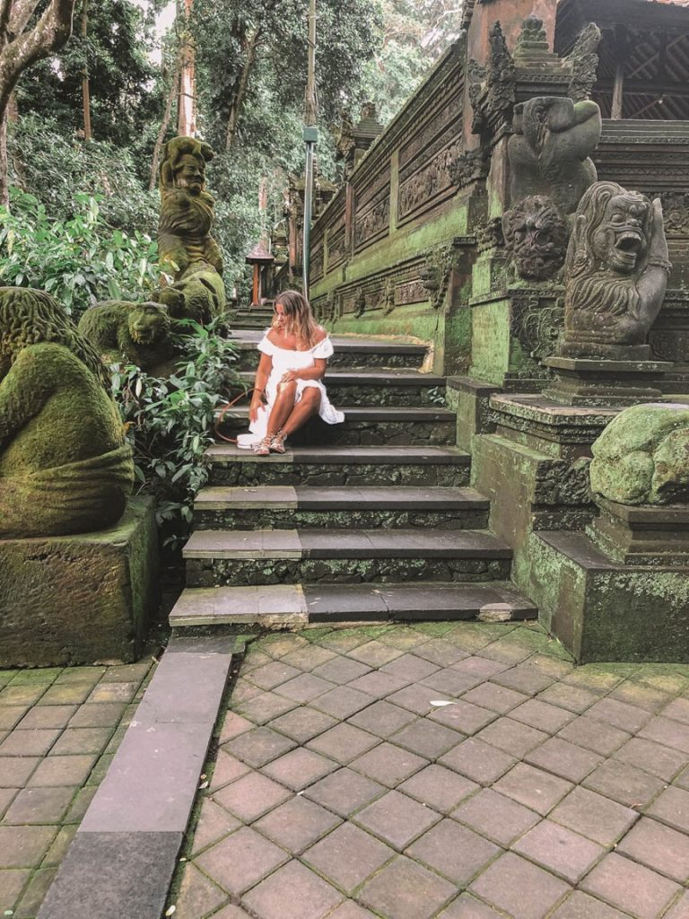 Visiting the Ubud Monkey Forest